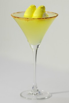 Pear of Peeps Pair Martini